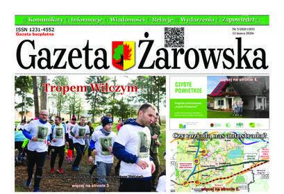 Nowy numer Gazety Żarowskiej 5/2020