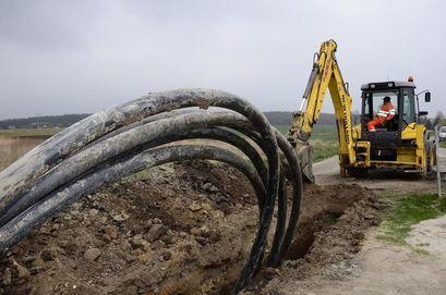 Podłączenie do kanalizacji sanitarnej nieruchomości w miejscowości Kalno i Wostówka oraz w Mrowinach objętych II etapem
