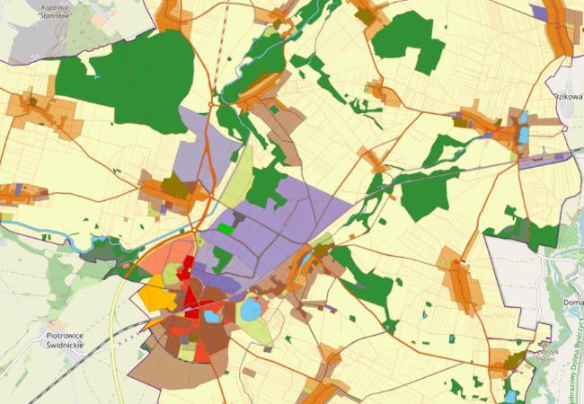 Zapoznaj się z projektem Studium Zagospodarowania Przestrzennego gminy Żarów