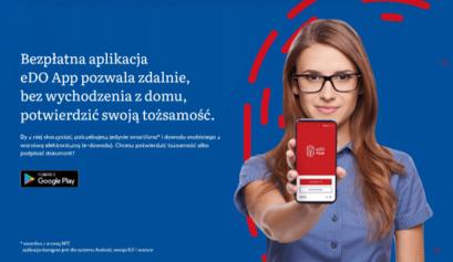Zdalne potwierdzanie tożsamości e-dowodem – to możliwe przy użyciu aplikacji na telefonie!