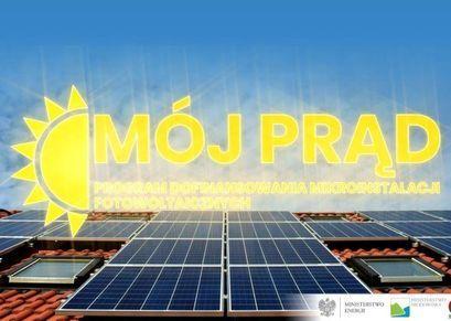 """Skorzystaj z dofinansowania w ramach programu """"Mój prąd"""""""