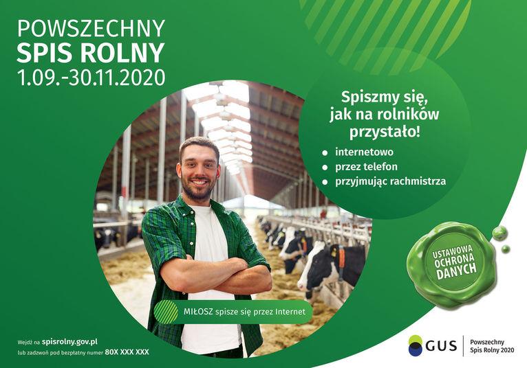 Chcesz zostać rachmistrzem podczas spisu rolnego?