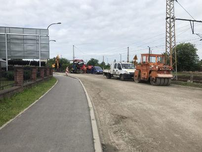 Nowa nawierzchnia asfaltowa przy ul. Wiejskiej w Żarowie