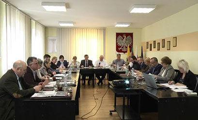 XXII Sesja rady Miejskiej w Żarowie
