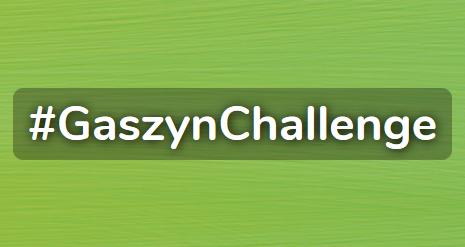 Radni, urzędnicy, strażacy i pracownicy firm oraz instytucji włączyli się w charytatywny #GaszynChallenge