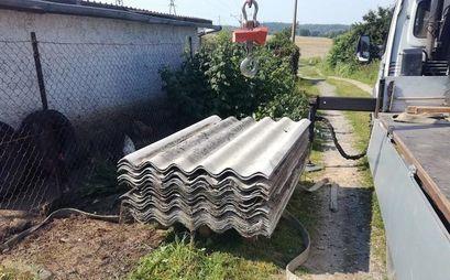Usuwanie azbestu z posesji mieszkańców