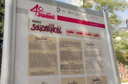Plenerowa wystawa 40-lecie Solidarności