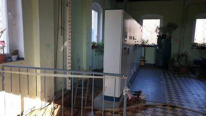 Remont stacji uzdatniania wody w Kalnie
