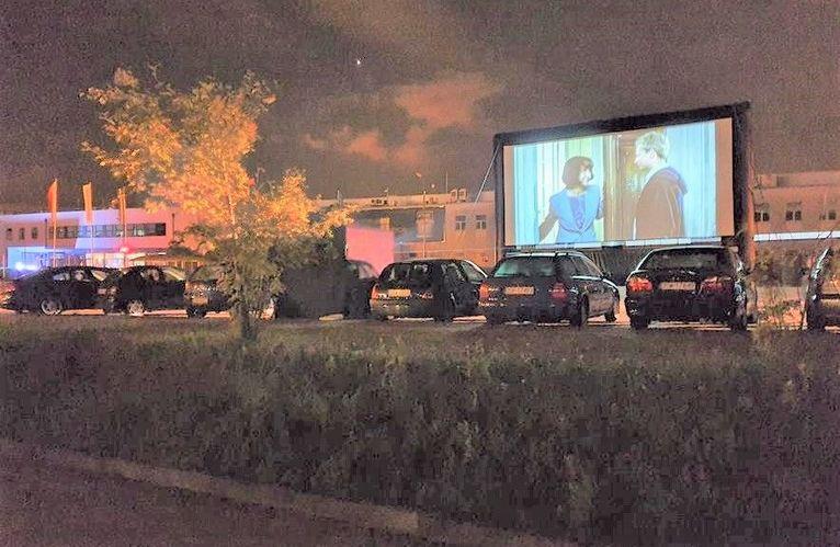 Electrolux'owe kino samochodowe