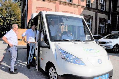 Elektryczny autobus na ulicach naszego miasta