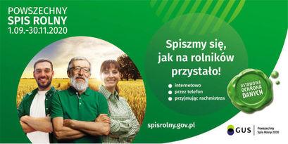 Uwaga! Spis rolny w terenie wstrzymany do odwołania