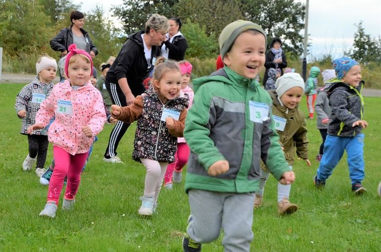 Przedszkolaki sprintem do maratonu
