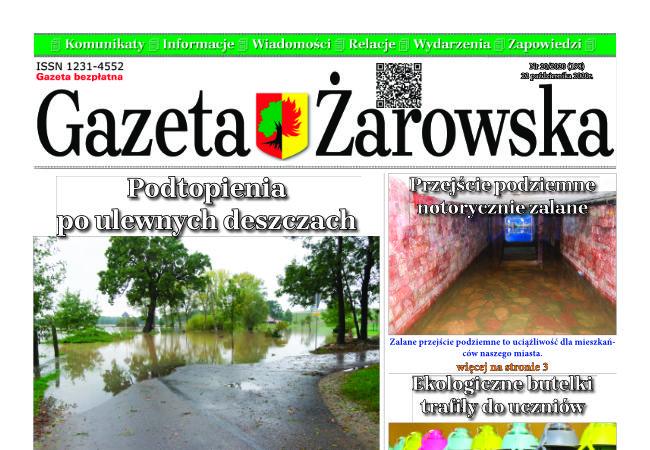 Nowy numer Gazety Żarowskiej - 20/2020