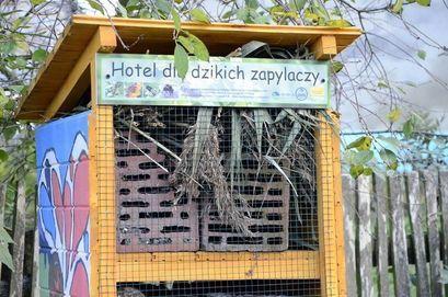 Mieszkańcy Wierzbnej przygotują ekohotele dla owadów