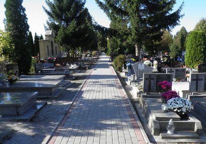Cmentarze zamknięte w związku z pandemią