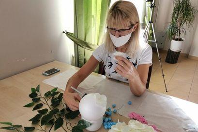 Warsztaty zdobienia przedmiotów użytkowych w Krukowie