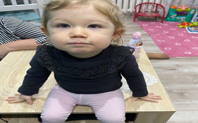 Mała Amelka ze Strzegomia walczy z SMA. Trwa zbiórka na leczenie dziewczynki