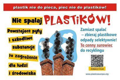 Plastik nie do pieca – piec nie do plastiku!