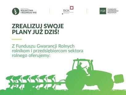 Gwarancja spłaty kredytu z Funduszu Gwarancji Rolnych