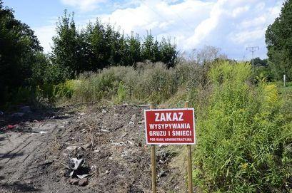 Zakaz wywożenia gruzu