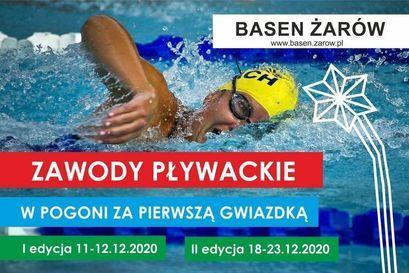 """Zawody pływackie """"W pogoni za pierwszą gwiazdką"""""""