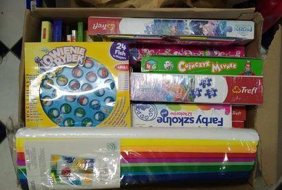 Świąteczne dary dla Domu Dziecka