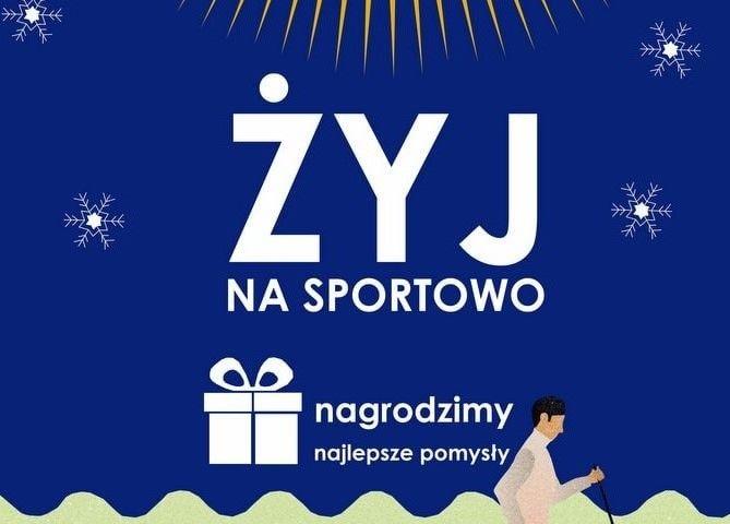 """Konkurs """"Żyj na sportowo"""""""