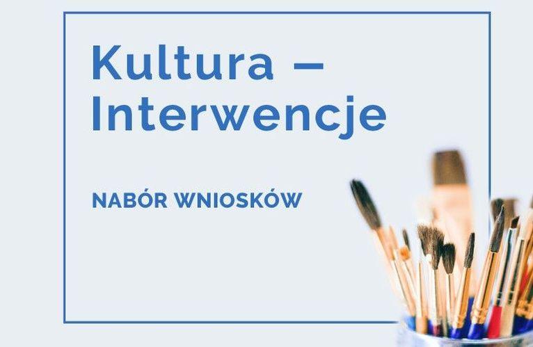 Nabór wniosków o dofinansowanie w ramach programu NCK Kultura - Interwencje 2021