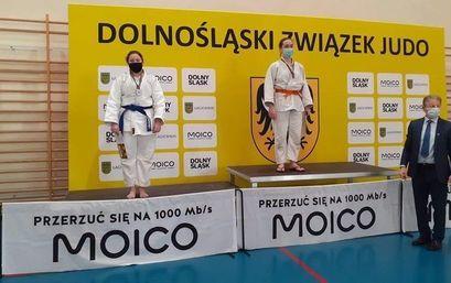 Sukces Nikoli Kamińskiej na Mistrzostwach Dolnego Śląsku w Judo