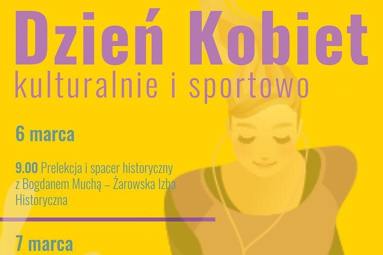 Kulturalnie i sportowo na Dzień Kobiet