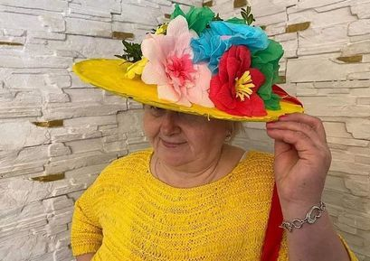 "Konkurs ""Wiosenne kapelusze"" w Imbramowicach"
