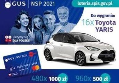Loteria promocyjna Narodowego Spisu Powszechnego Ludności i Mieszkań