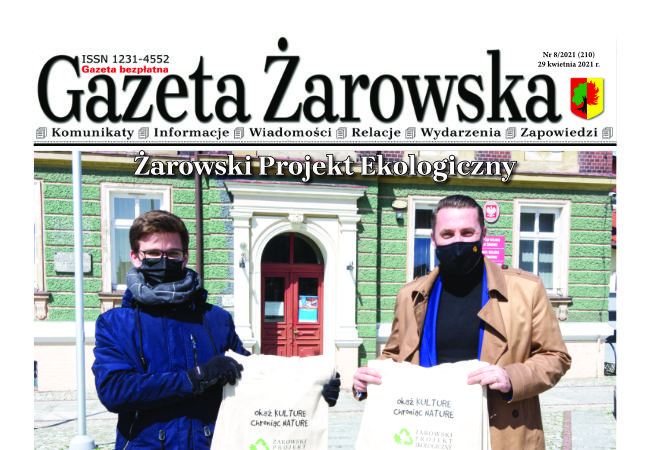 Nowy numer gazety 8/2021