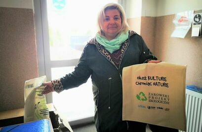 Ekologiczne torby trafiły do mieszkańców