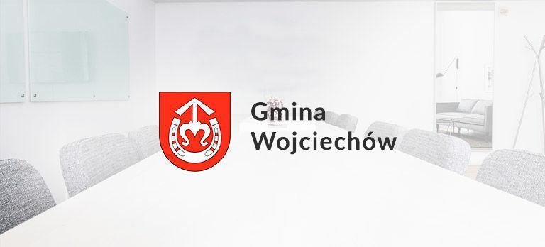 X Sesja w dniu 19 czerwca 2019, godz. 12:00 w sali konferencyjnej Gminnego Ośrodka Kultury w Wojciechowie