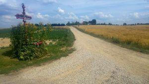 Informacja o przetargu - przebudowa drogi gminnej nr 106917L i  112575L