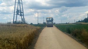 Trwa modernizacja drogi gminnej nr 106906L