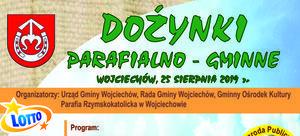 Dożynki Parafialno - Gminne w Wojciechowie
