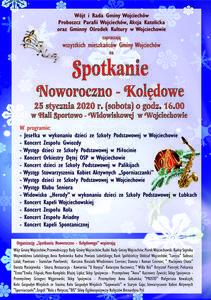 Spotkanie Noworoczno - Kolędowe 25 stycznia 2020 r. (sobota)