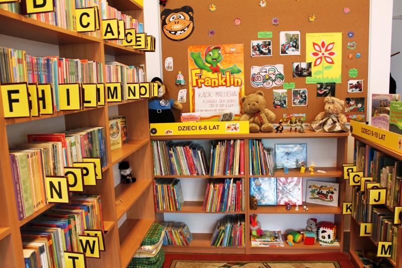 Nowa siedziba Filii Biblioteki Gminnej os. Borek w Turce - Klub Mam