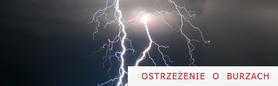 Ostrzeżenie o burzach z gradem dn. 20.08.2012 r.