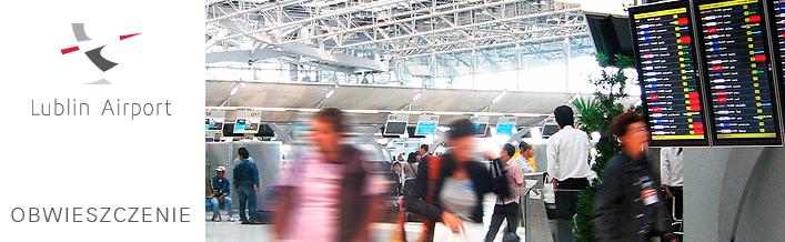 Zawiadomienie w sprawie realizacji przedsięwzięcia - Rozbudowa Regionalnego Portu Lotniczego