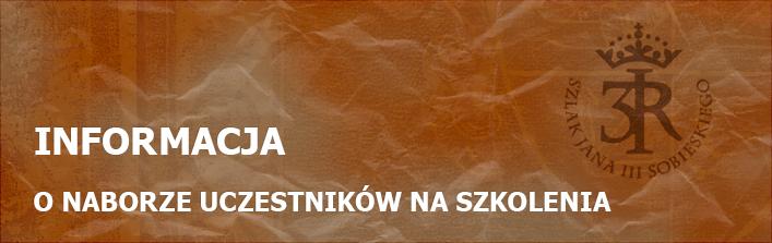 Zespół Szkoleniowo – Doradczy im. Jana III Sobieskiego ogłasza nabór uczestników na szkolenia