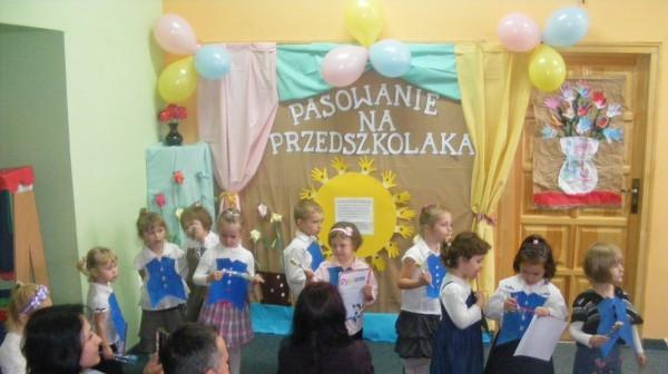 Pasowanie na przedszkolaka 2013