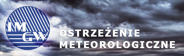 Ostrzeżenie o burzach z gradem na dzień 06.08.2014