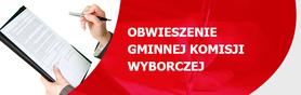 Obwieszenie Gminnej Komisji Wyborczej w Wólce z dnia 23 października 2014 r. o przyznanych numerach list
