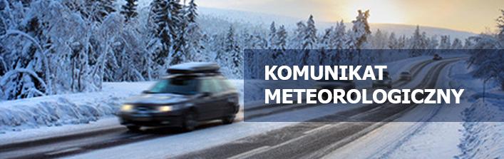 KOMUNIKAT METEOROLOGICZNY Z 11.02.2015 r.