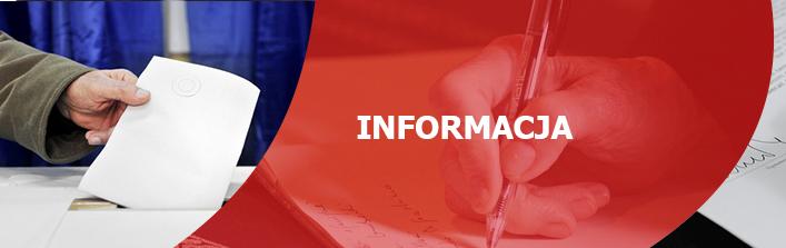 Informacje dla kandydatów na członków obwodowych komisji wyborczych
