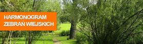 Harmonogram zebrań wiejskich - fundusz sołecki 2020 rok