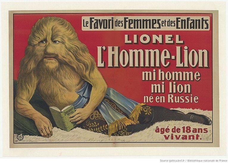 Plakat cyrkowy - domena publiczna